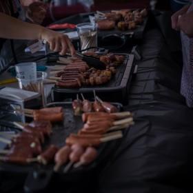 Foire gourmande ATNEO Ville-Marie 2019 saucisse